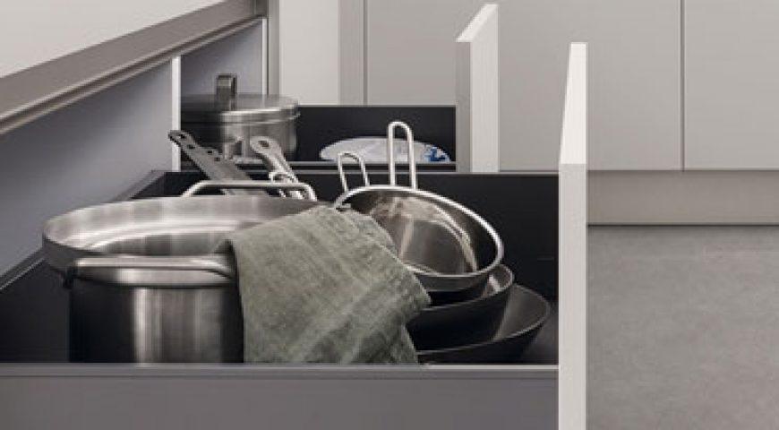 I cassetti Legrabox di Veneta Cucine