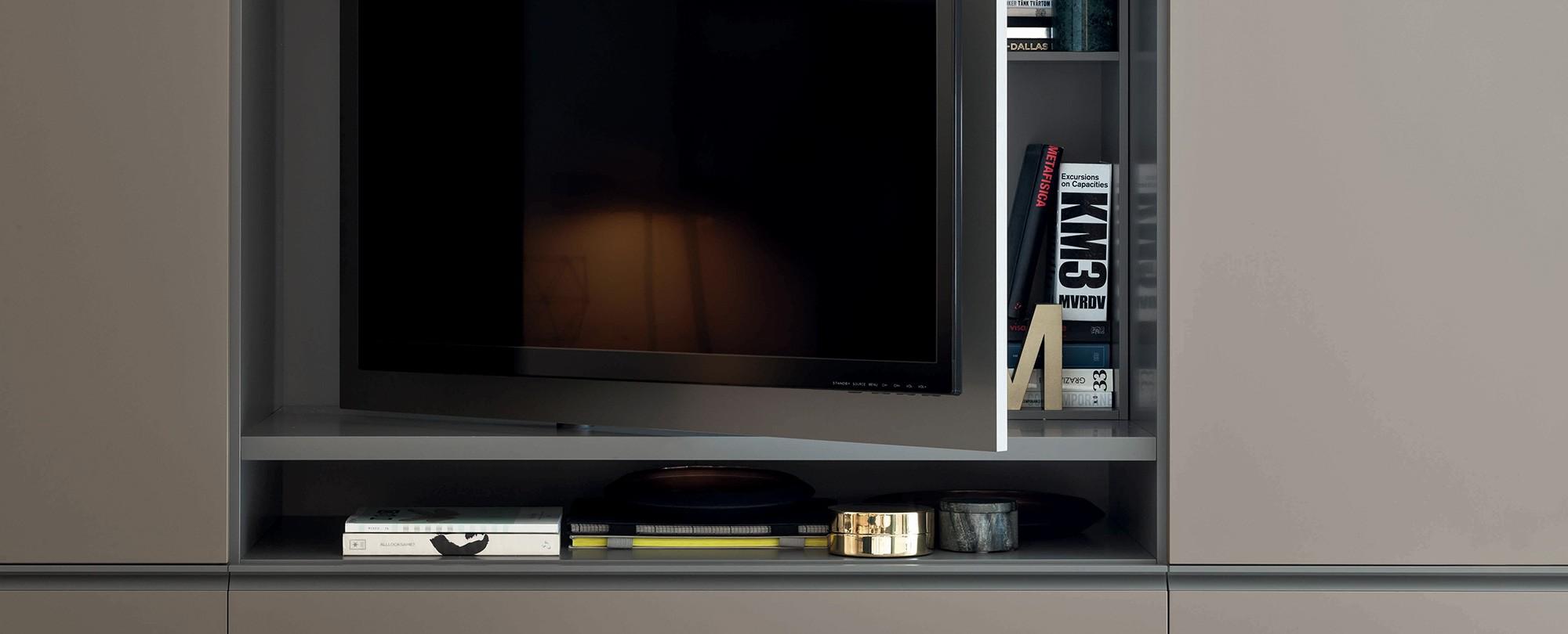 Gola con pannello porta TV - Cecchini Store