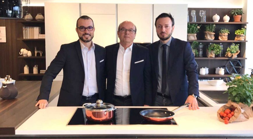 Bruno, Alessandro e Roberto Cecchini i titolari di Cecchini Store. Il meglio sempre