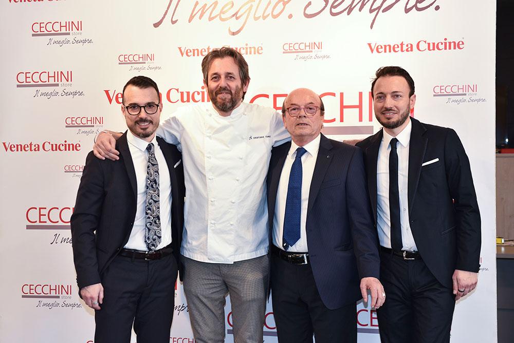Grande successo per l'evento con lo chef Cristiano Tomei