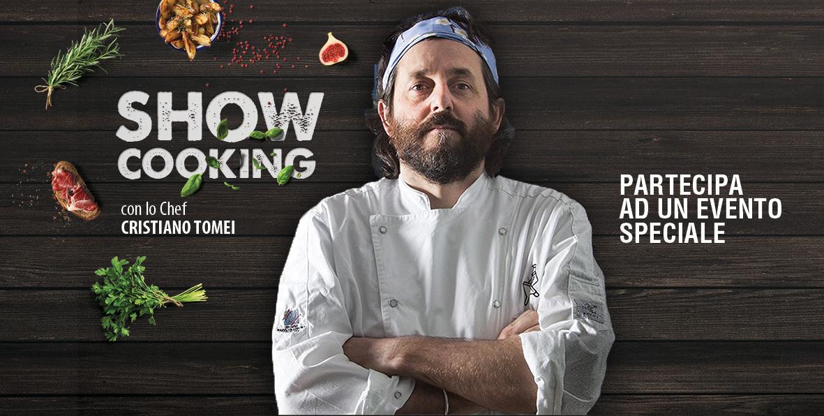 Lo Chef Cristiano Tomei ospite di Cecchini Store