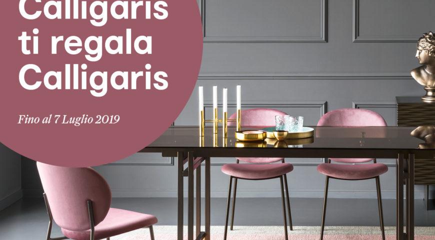 Da Cecchini Store, Calligaris ti regala Calligaris*!